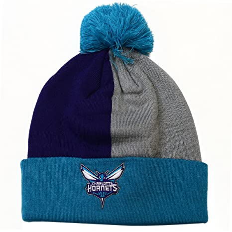 11b6eb7d Mitchell & Ness NBA Over and Back Cuffed Pom Beanie Knit