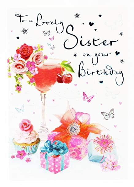 Tarjeta de felicitación de cumpleaños para hermana Hallmark ...