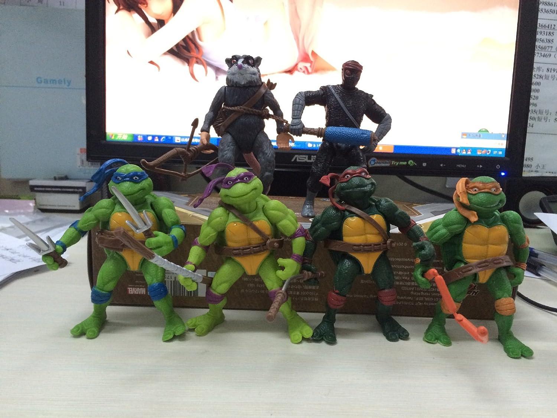 WP Teenage Mutant Ninja Turtles juguetes de la familia 2014 ...