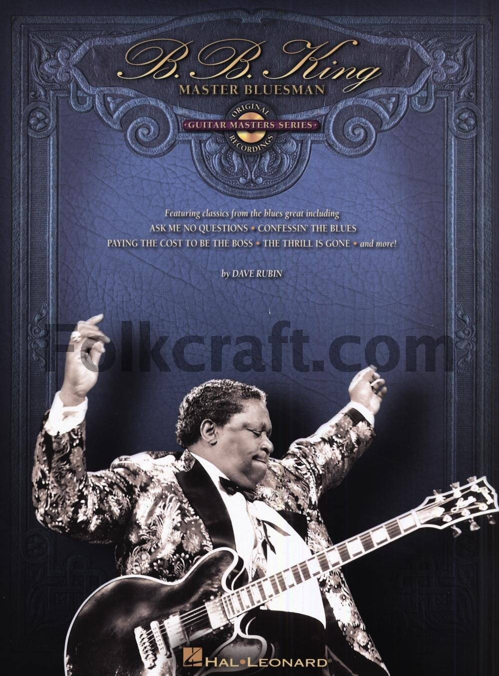 B.B. King: Master Bluesman. Partituras, CD para Guitarra: Amazon ...