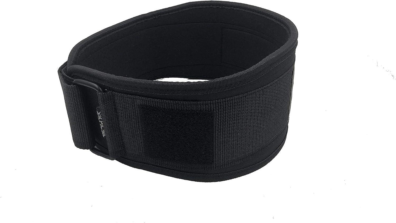 Fitness Powerlifting PicSil Cintur/ón para Crossfit Musculaci/ón para Altas Cargas
