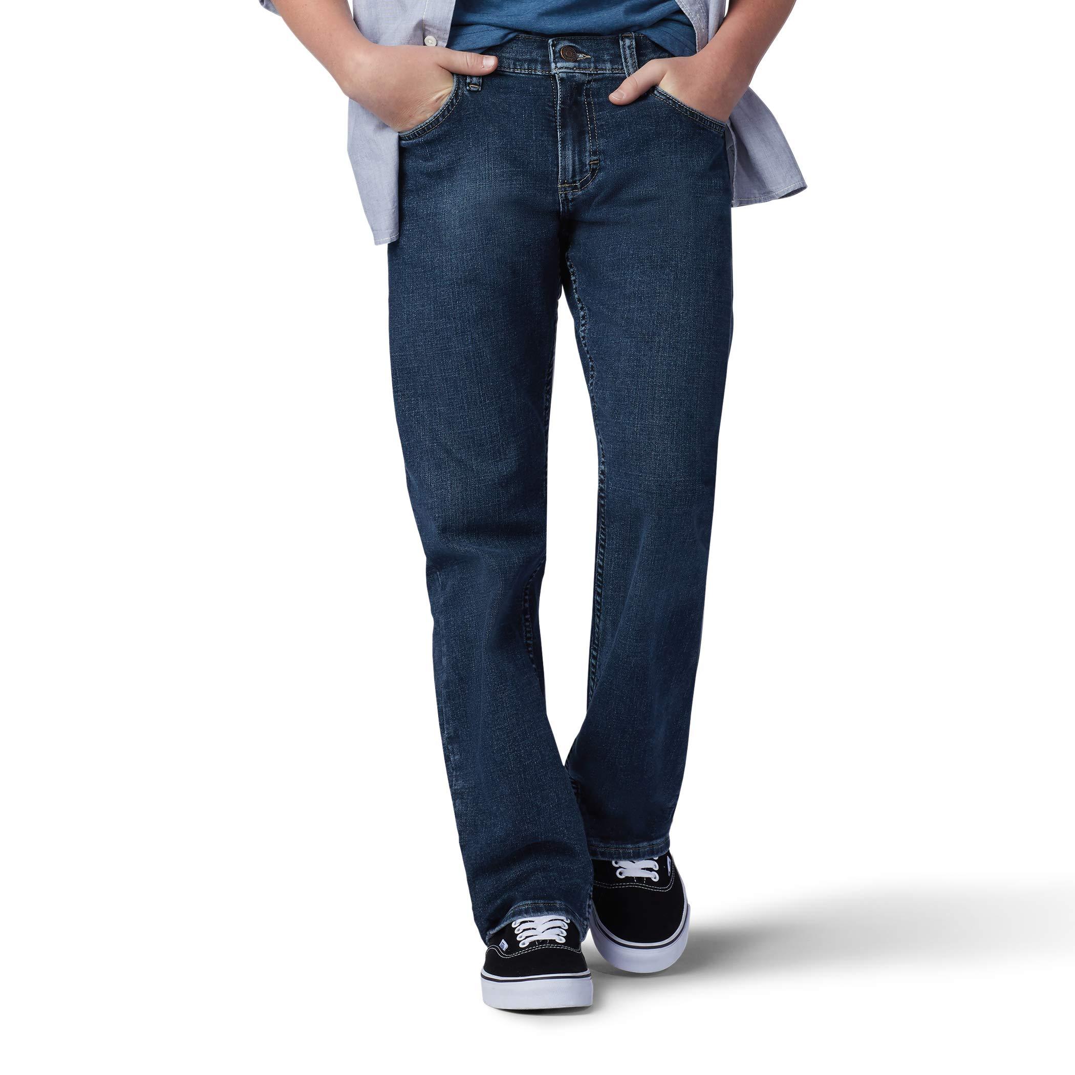 LEE Big Boy Proof Regular Fit Straight Leg Jean, Champ, 16 Slim