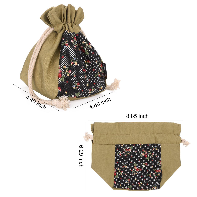 Amazon.com: Q-smile Waterproof Round Drawstring Bag Sewing Patterns ...