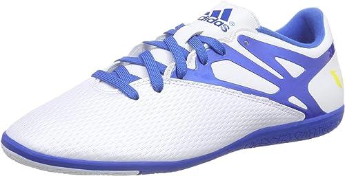 adidas Performance Herren Messi 15.3 IN Fußballschuhe, Weiß