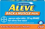 Aleve Back and Muscle Pain Tablets, Fast Acting All Day Targeted