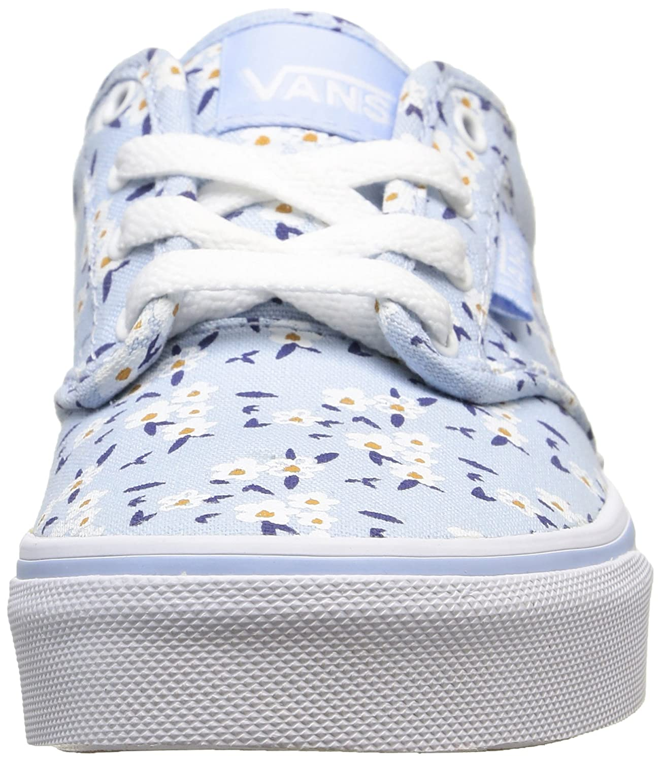 8b70370e3c Amazon.com  Vans Atwood Youth Sneakers - Floral Light Blue White  Clothing