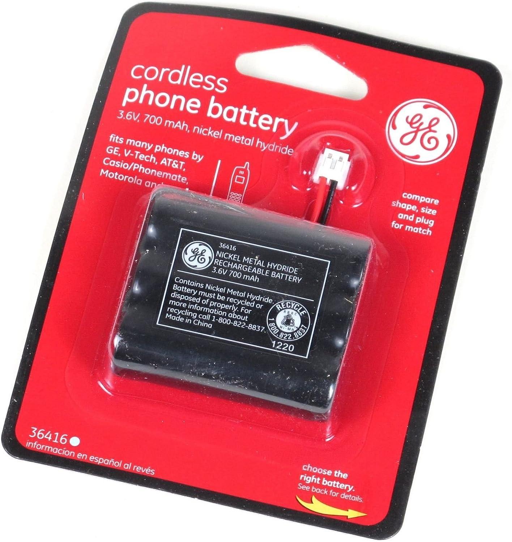 GE Cordless Phone Battery 700mAh 3.6V - 36416