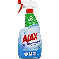 Ajax Spray n' Wipe Multipurpose Antibacterial Disinfectant Cleaner Trigger Surface Spray Ocean Fresh Made in Australia…