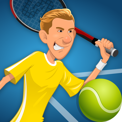 Stick Tennis (Best Cricket Games For Mobile)