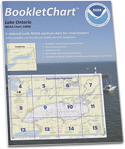 Lake Erie Paradise Cay Publications NOAA BookletChart 14820