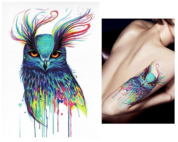 Tatuajes temporales Tempo rary Tattoo Fake Tattoo – acuarela de ...