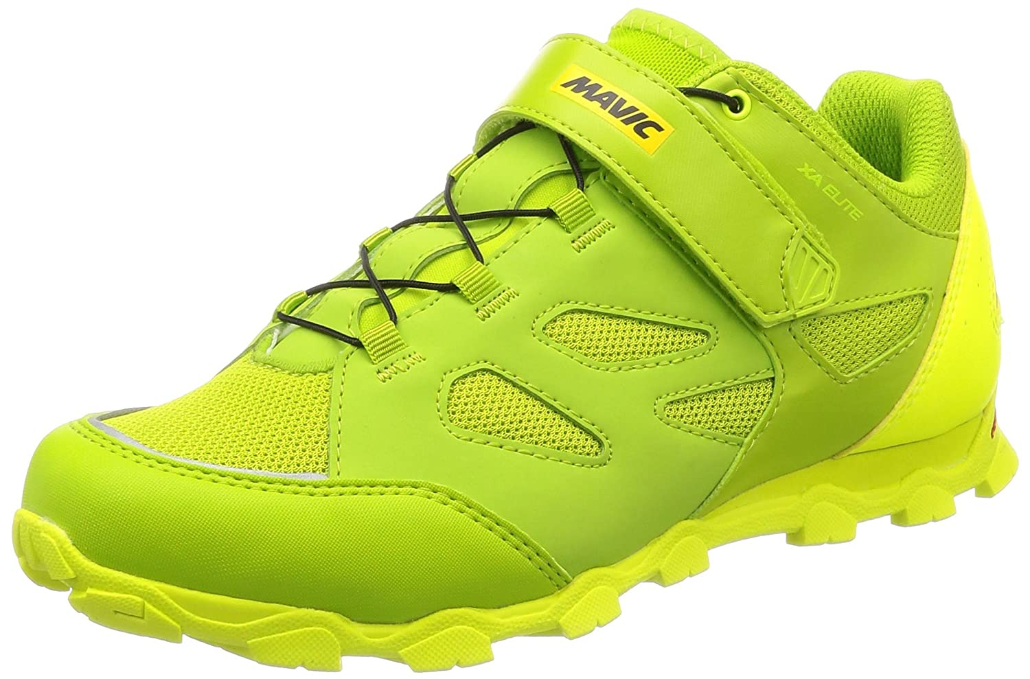 Mavic XA Elite Cycling Shoes - Men's B078S58181 12.5|Green/Yellow/Black