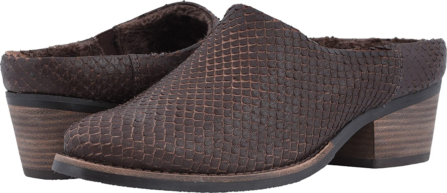 Walking Cradles Womens Greer B078SVC37D 4.5 B(M) US|Brown Cut Snake Print Leather