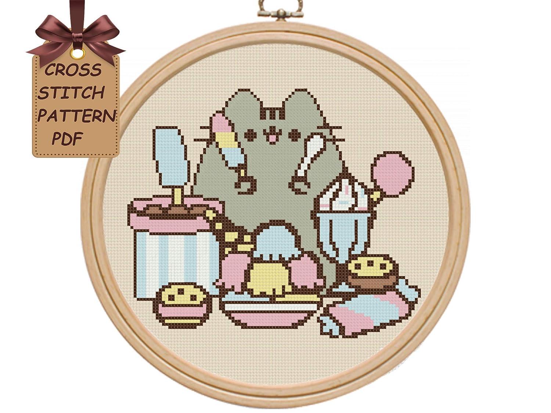 modern western decor.htm amazon com cross stitch pattern pdf  cat cross stitch pattern  cat cross stitch pattern