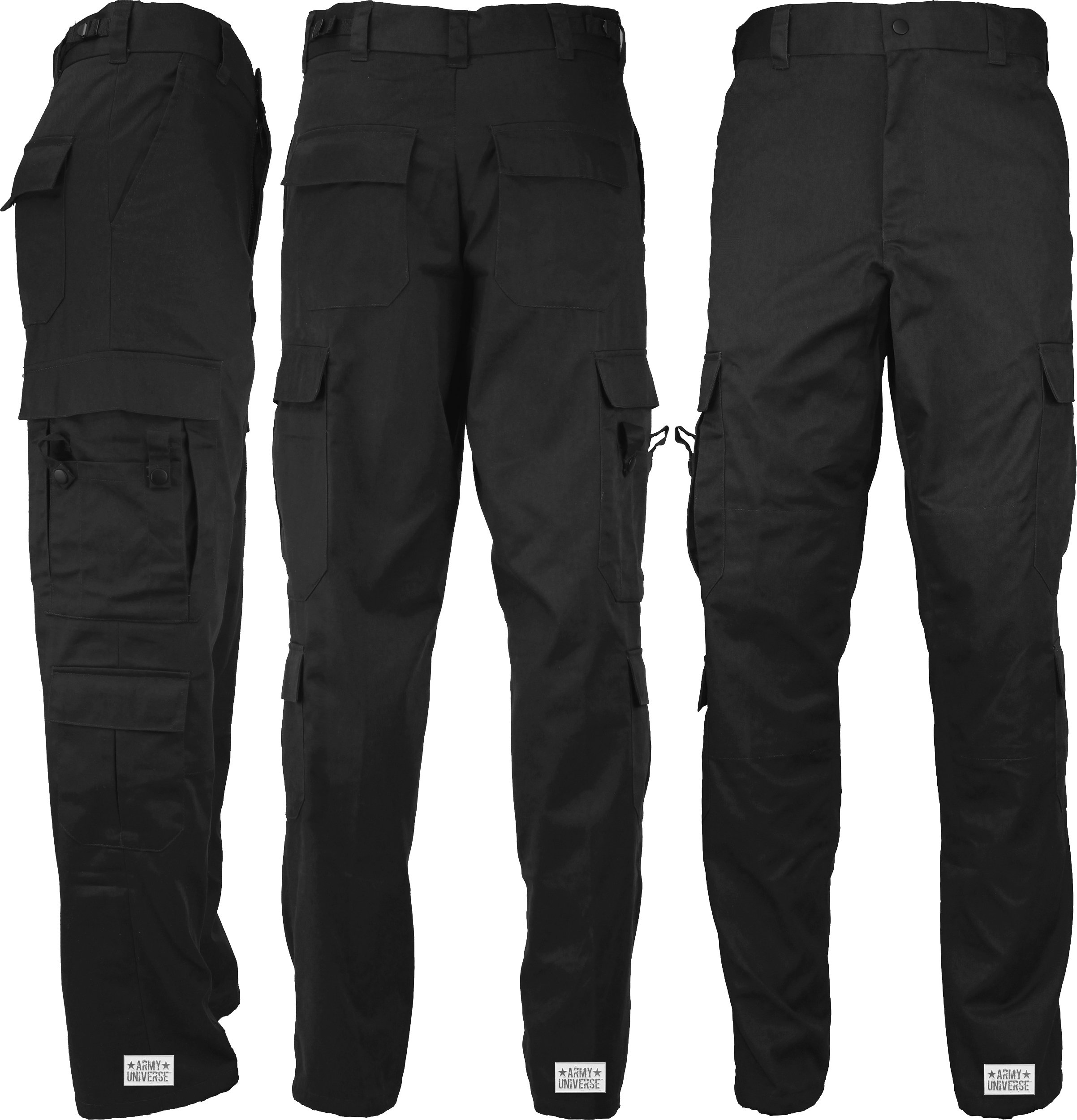 Army Universe Black Uniform 9 Pocket Cargo Pants 857383b83f4