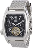 Constantin Durmont Herren-Armbanduhr XL Sumter Analog Automatik Edelstahl CD-SUMT-AT-STM2-STST-BK