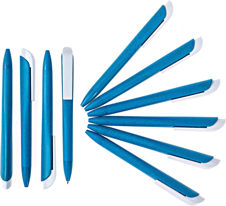 Pack of 10 Eco Friendly Ballpoint Pens|Gel Pens|Pens Medium Point|Journal Pens