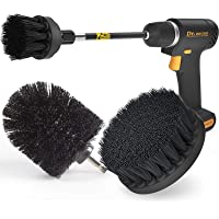 Holikme 4Pack Drill Brush Power Scrubber Cleaning Brush Extended Long Attachment Set All Purpose Drill Scrub Brushes Kit…