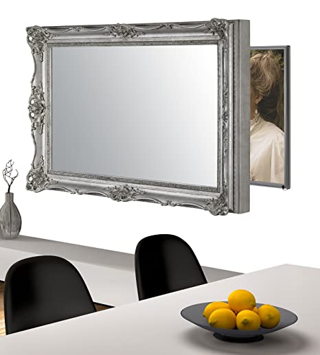 Handmade Framed Mirror to Turn Your Existing TV to: Amazon.co.uk ...