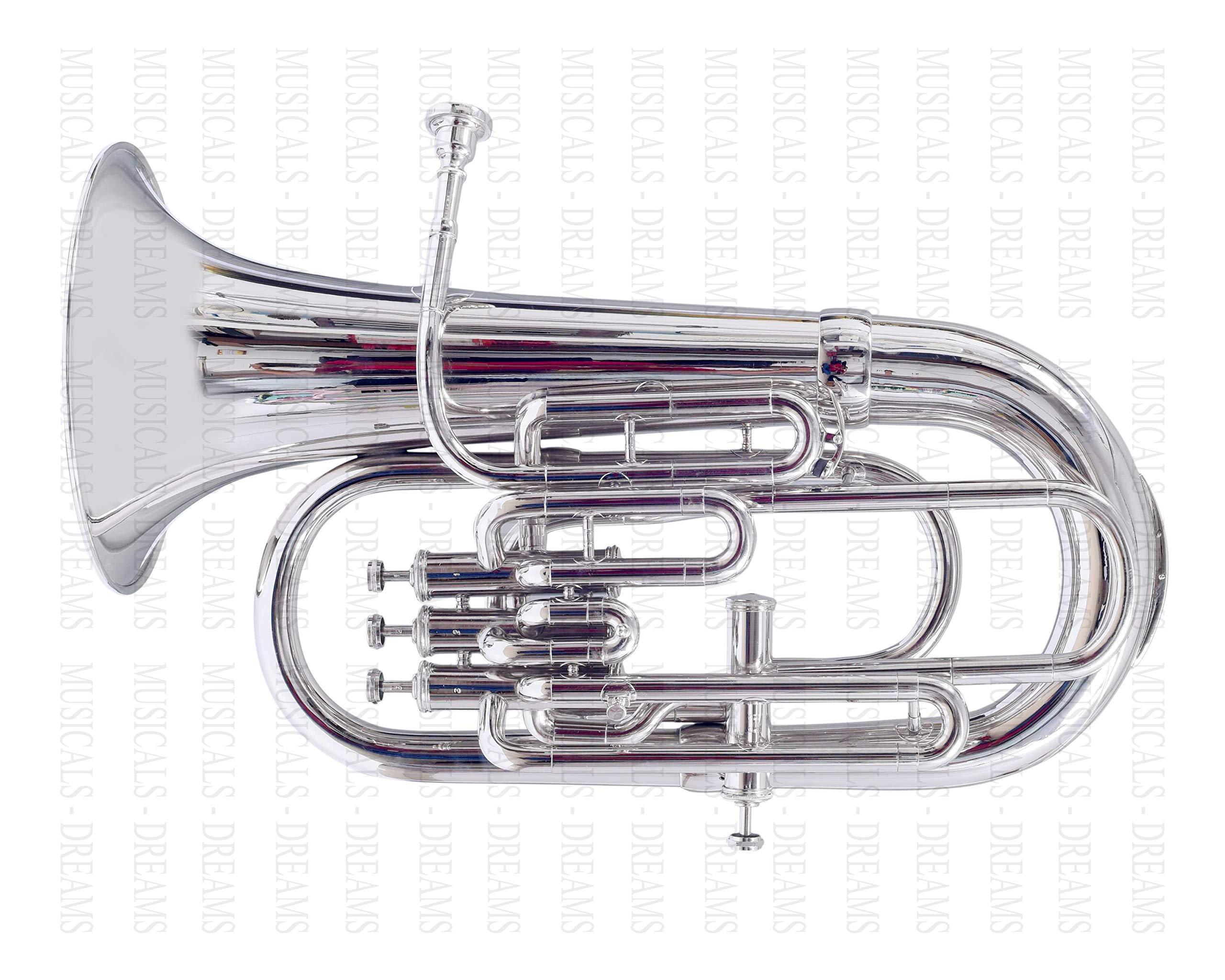Moonflag Bb Euphonium Nickel 4 Valve by NASIR ALI (Image #3)