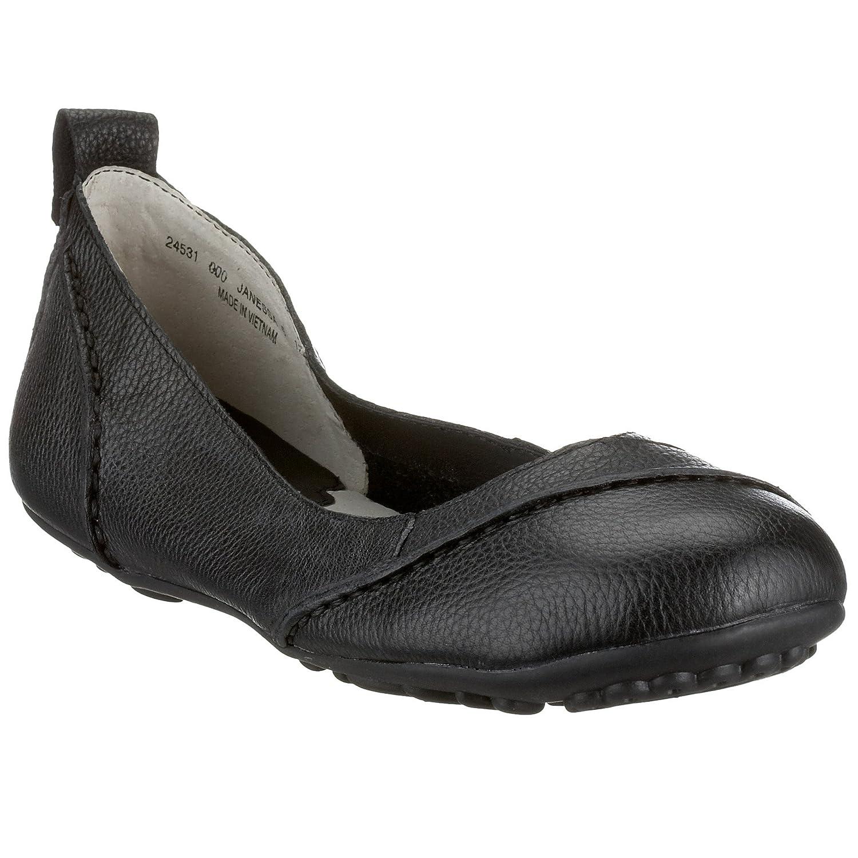 durable service Hush Puppies Janessa Black Womens Slip On Ballet Pumps Shoes
