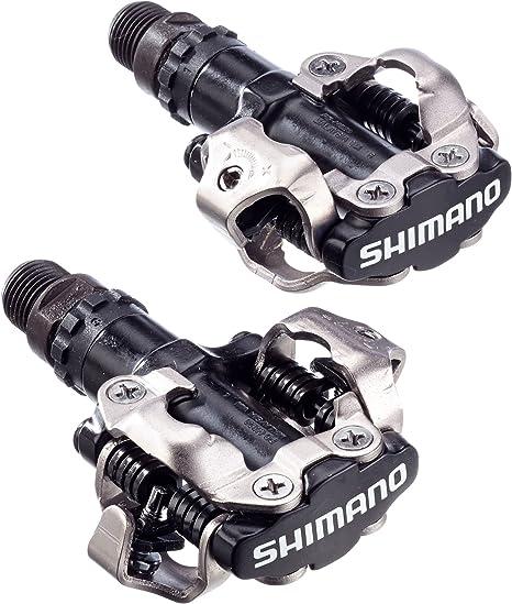 SHIMANO MTB Pedal para Bicicleta, Unisex, Negro: Amazon.es ...