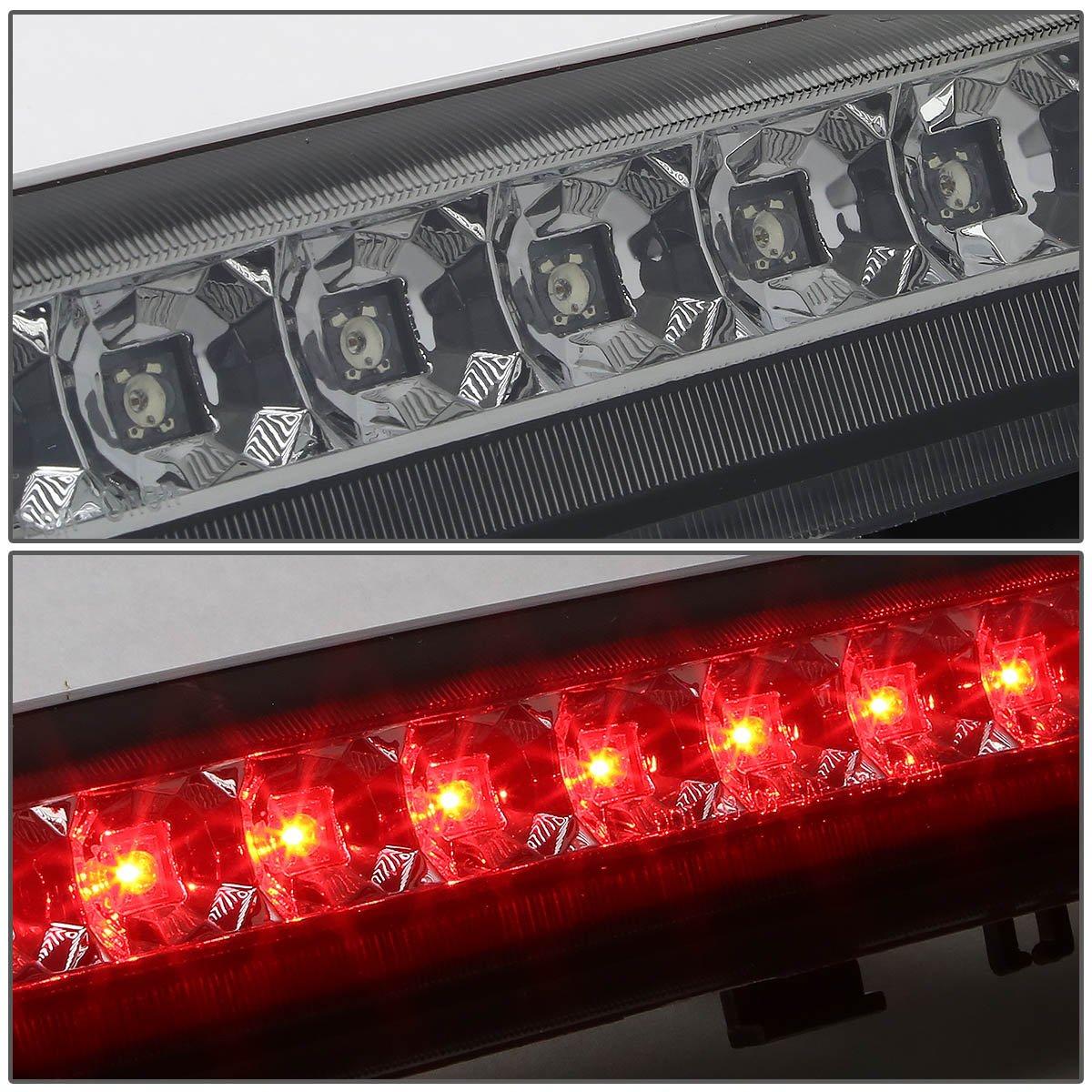 DNA Motoring 3BL-GMCD00-LED-BK Third Brake Light