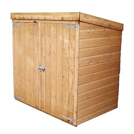 Caseta de madera para almacenamiento en el jardín de Waltons, 1,52
