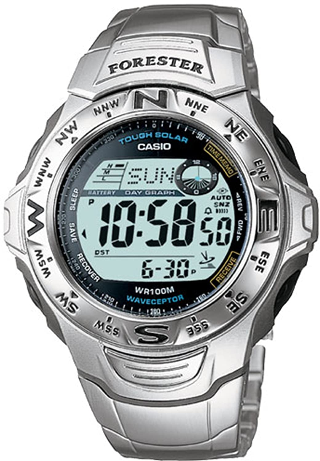 Casio Mens Wave Ceptor Watch Ftw100d 7v Watches Ae 1000w 1a Manamp039s Waterproof Sports Electronic
