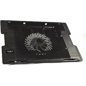 Tacens Anima ANBC2 - Base de refrigeración para portátil (ventilador 14 cm, 17 pulgadas
