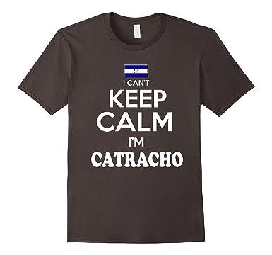 Mens Honduras Keep Calm tshirt Soy Catracho tshirt Camiseta 2XL Asphalt