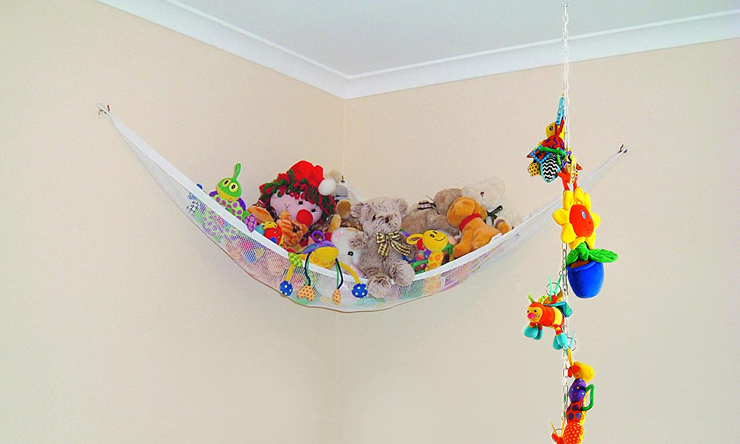 amazon    dreambaby super toy hammock and toy chain  baby  rh   amazon