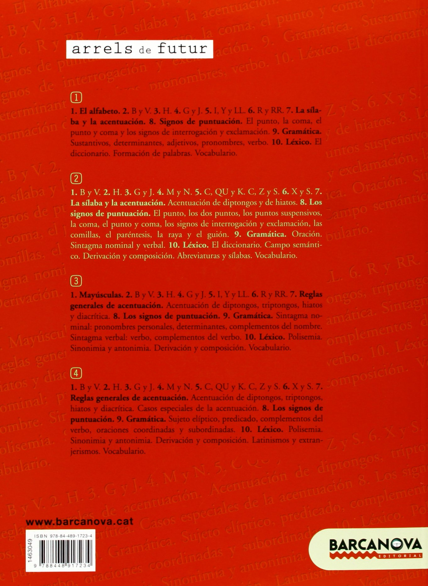 Cuaderno de refuerzo de lengua castellana 2 Materials Educatius - Eso - Lengua Castellana - 9788448917234: Amazon.es: Francisca Ezquerra Lezcano: Libros