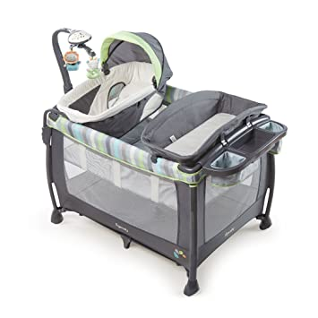 Ingenuity Smart and Simple Deluxe Playard, Vesper/Grey
