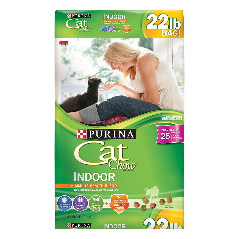 Amazon Purina Cat Chow Dry Cat Food Indoor Formula 22