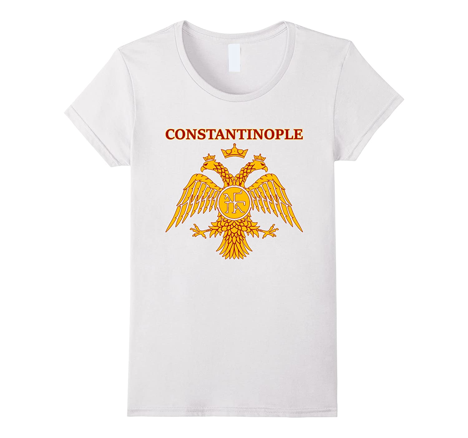 Constantinople Eastern Empire T shirt Purple-Awarplus