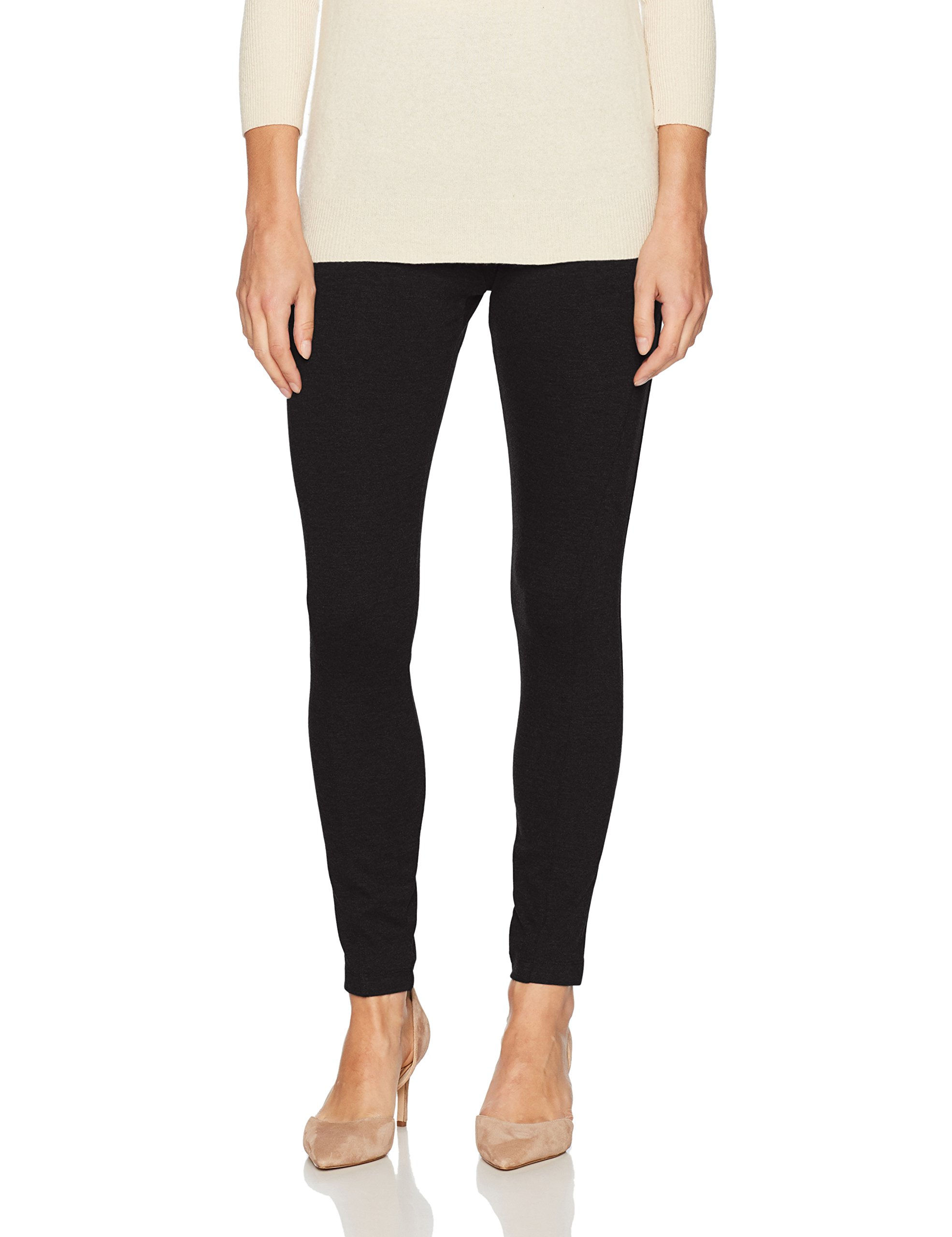Lyssé Women's Ella Seamed Ponte Legging, Black, S