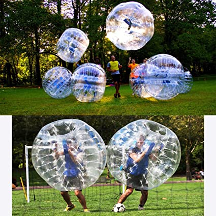 Gymnastikbälle Fitness & Jogging Yaekoo Pvc Transparent 5 Feet 1.5M Diameter Inflatable Bumper Ball Human Knocker
