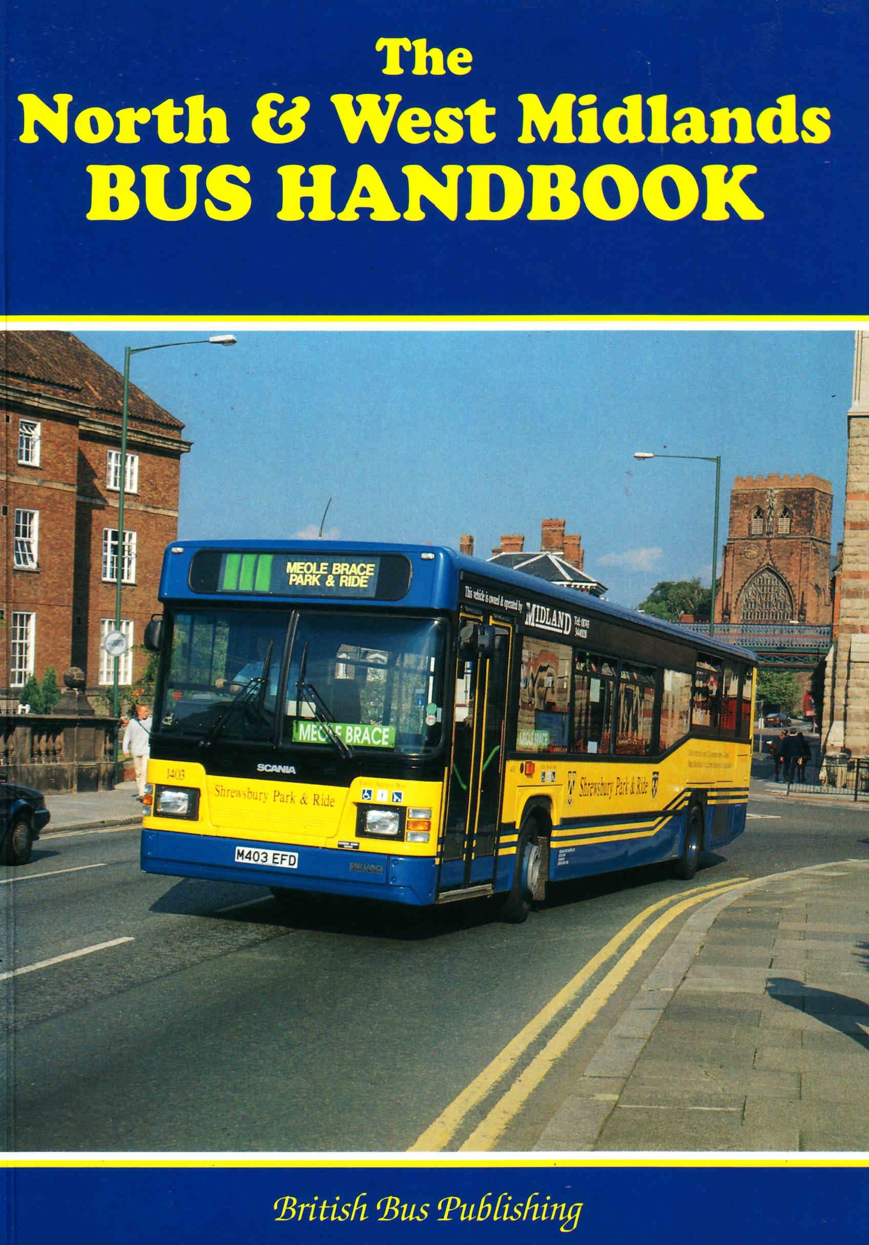 The North and West Midlands Bus Handbook