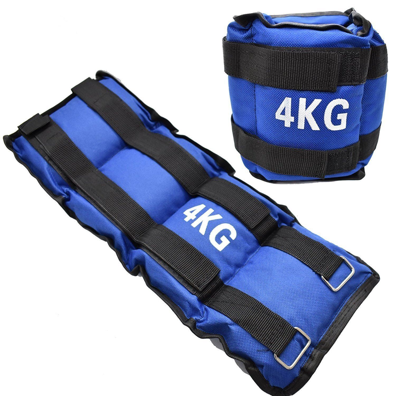1/kg 2/kg 3/kg 4/kg 5/kg 6/kg Bleu poignet ou de la cheville Poids pour exercice fitness gym r/ésistance Stength dentra/înement et cours