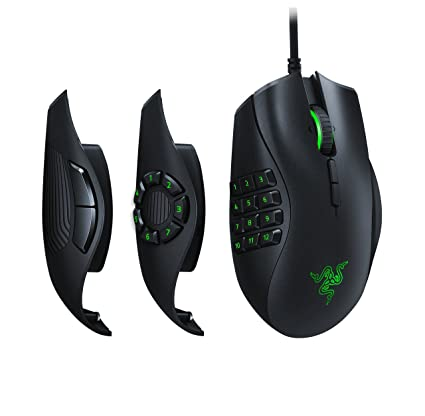 401651937b4 Razer Naga Trinity Gaming Mouse: 16,000 DPI Optical Sensor - Chroma RGB  Lighting - Interchangeable