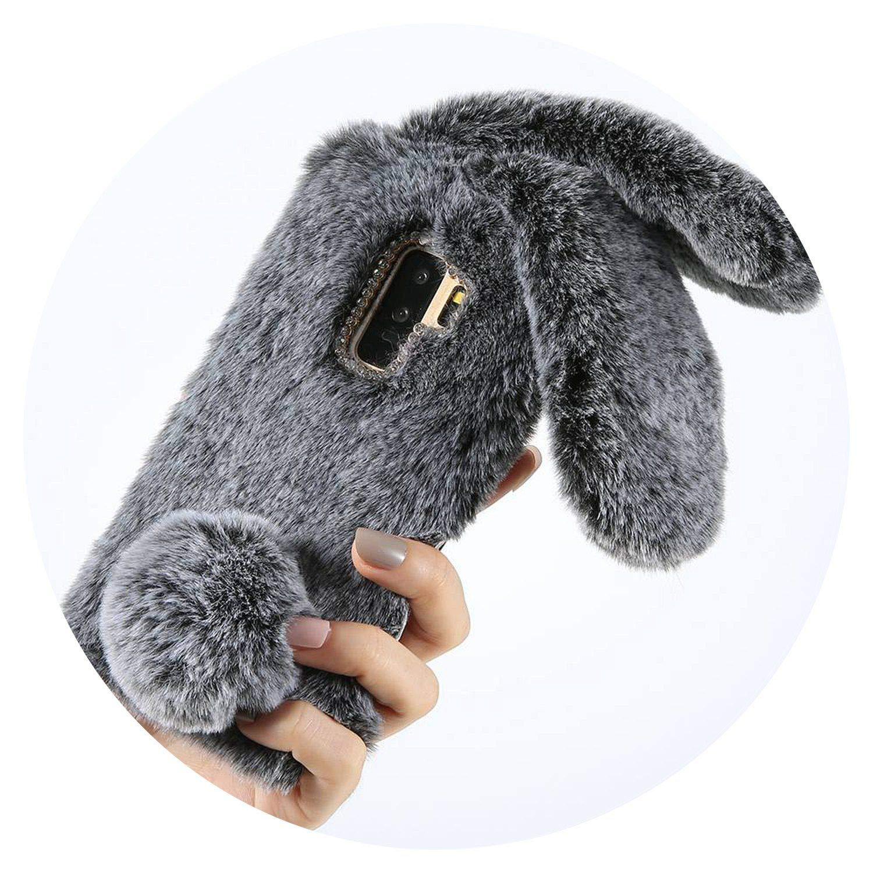 Amazon.com: Fluffy - Funda de piel sintética para Huawei P20 ...