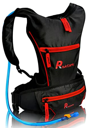 Amazon.com : Top Rated Hydration Pack with FREE Waist Pack & 2 ...