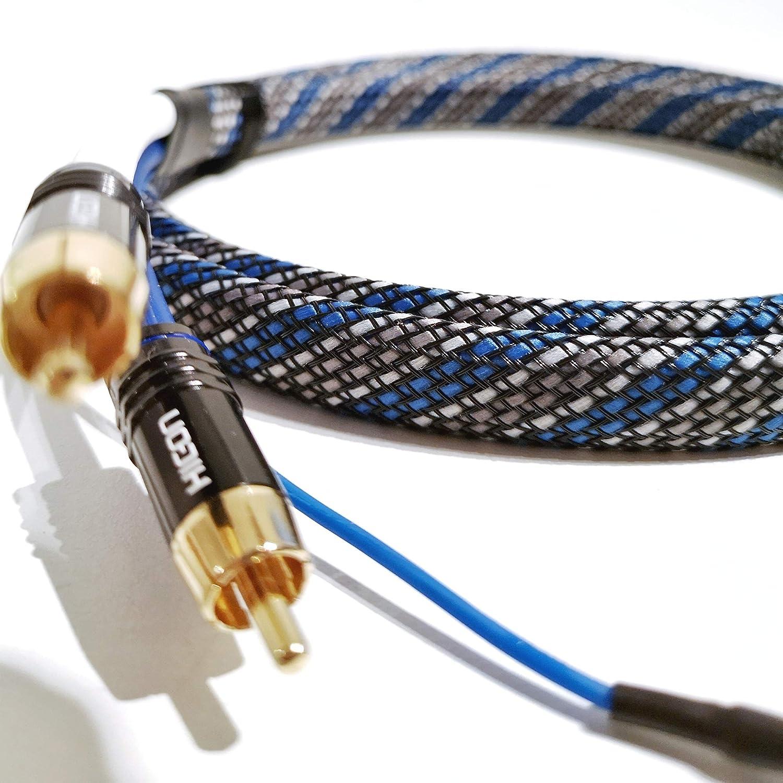 SC81-K3-V-Blue-0300 - Cable RCA (3 m, Cable de Audio de 3,1 m ...