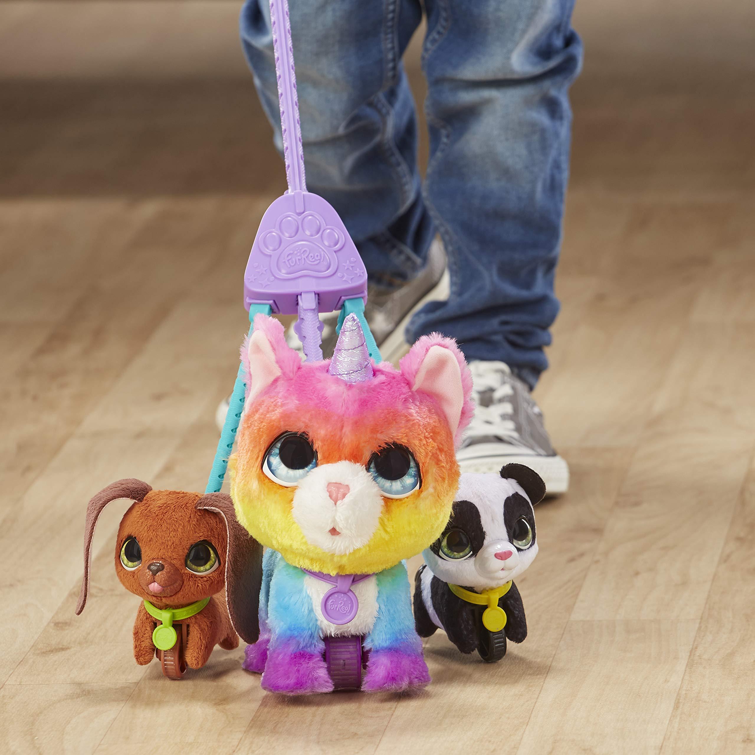 FurReal Friends E5307EU5 FRR WALKALOTS Big Wags Unicorn CAT, Multicolour by FurReal (Image #8)