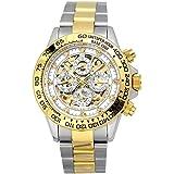 J.HARRISON (ジョンハリソン)自動巻き両面スケルトン腕時計JH-003GW