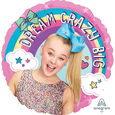 "Mayflower 36869 18"" Anagram Jojo Siwa Foil Balloon, Multicolor: Kitchen & Dining"