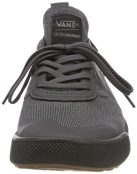 Vans Mens Asphalt Black Knit Ultrarange Ac Sneakers-UK 9  Amazon.ca  Shoes    Handbags c85e91768