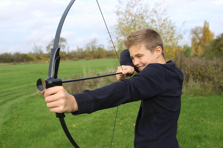 GENUINE PETRON Sureshot Orange Bow /& Arrow Recurve Archery Set 3 Sucker Arrows