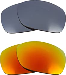 e5265f2cdd Sideways Replacement Lenses Polarized Silver   Yellow by SEEK fits OAKLEY